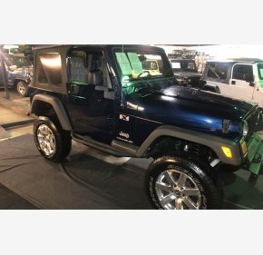 2005 Jeep Wrangler 4WD X for sale 101050073