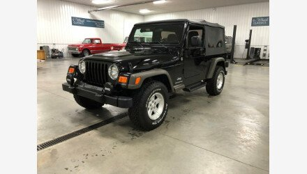 2005 Jeep Wrangler 4WD Unlimited for sale 101078968