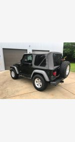 2005 Jeep Wrangler 4WD Rubicon for sale 101142146