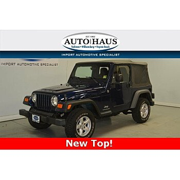 2005 Jeep Wrangler 4WD X for sale 101179307