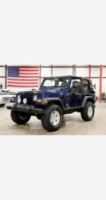2005 Jeep Wrangler 4WD SE for sale 101193895