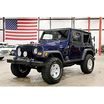 2005 Jeep Wrangler 4WD SE for sale 101193895