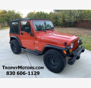 2005 Jeep Wrangler 4WD X for sale 101218526