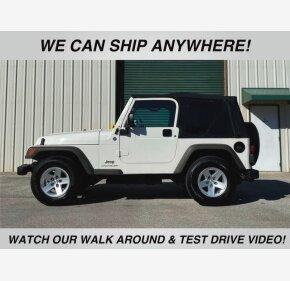 2005 Jeep Wrangler 4WD SE for sale 101274715