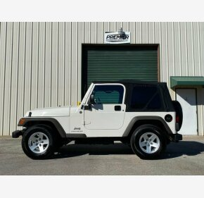 2005 Jeep Wrangler 4WD SE for sale 101274715