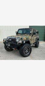 2005 Jeep Wrangler 4WD Unlimited for sale 101287491