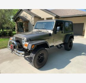 2005 Jeep Wrangler 4WD Unlimited for sale 101305815