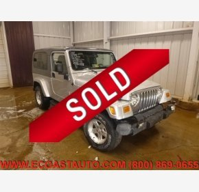 2005 Jeep Wrangler 4WD Unlimited for sale 101326316