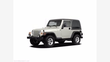 2005 Jeep Wrangler for sale 101345466