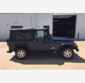 2005 Jeep Wrangler for sale 101350873