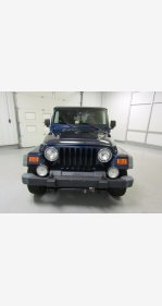 2005 Jeep Wrangler for sale 101359786