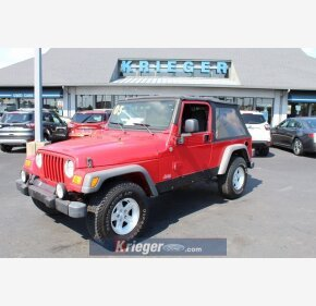 2005 Jeep Wrangler for sale 101372414