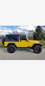 2005 Jeep Wrangler for sale 101405555