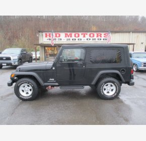 2005 Jeep Wrangler 4WD Unlimited for sale 101435902