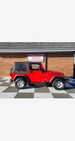 2005 Jeep Wrangler for sale 101443213