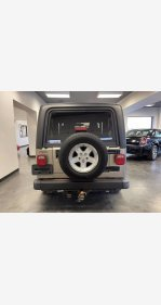 2005 Jeep Wrangler for sale 101443233