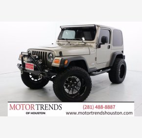 2005 Jeep Wrangler for sale 101444276