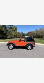 2005 Jeep Wrangler for sale 101448536