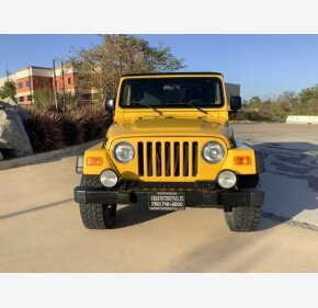 2005 Jeep Wrangler for sale 101490234