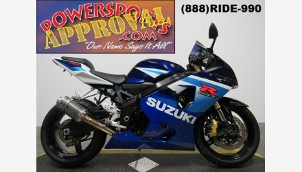 2005 Suzuki GSX-R600 for sale 200436643