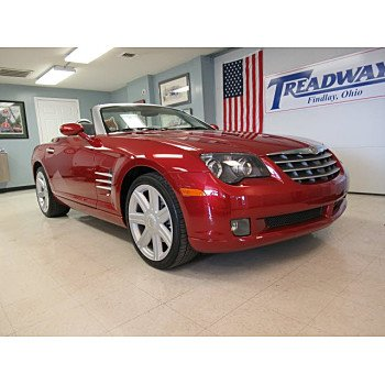 2006 Chrysler Crossfire Limited Convertible for sale 100998316