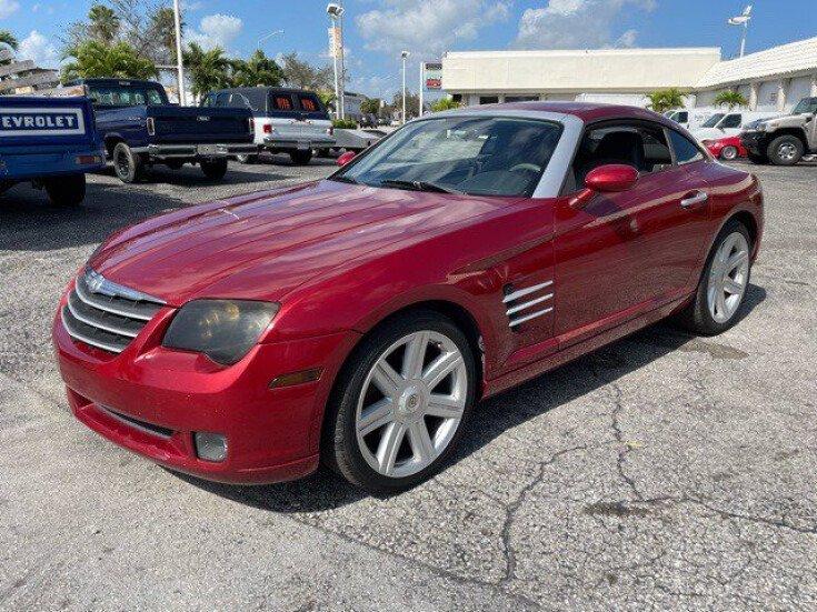 2006 Chrysler Crossfire for sale 101544727
