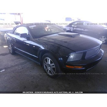 2006 Ford Mustang Convertible for sale 101101632