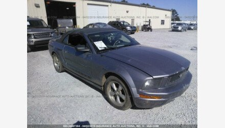 2006 Ford Mustang Convertible for sale 101125032