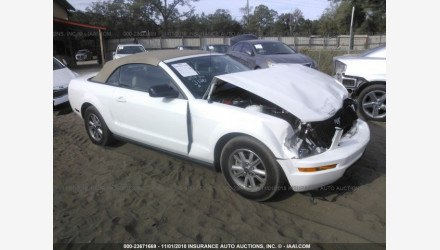 2006 Ford Mustang Convertible for sale 101127090