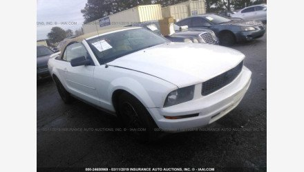 2006 Ford Mustang Convertible for sale 101127787