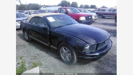 2006 Ford Mustang Convertible for sale 101188339