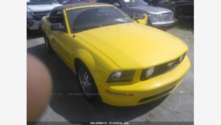 2006 Ford Mustang GT Convertible for sale 101192412