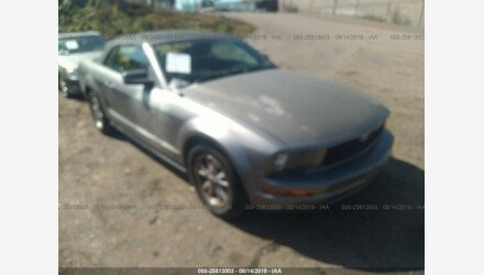 2006 Ford Mustang Convertible for sale 101194537