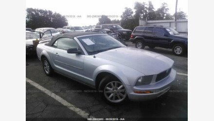 2006 Ford Mustang Convertible for sale 101195155