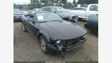 2006 Ford Mustang Convertible for sale 101206935