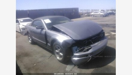 2006 Ford Mustang Convertible for sale 101209916