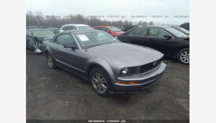 2006 Ford Mustang Convertible for sale 101235777
