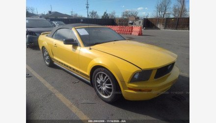 2006 Ford Mustang Convertible for sale 101411420