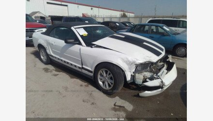 2006 Ford Mustang Convertible for sale 101414885