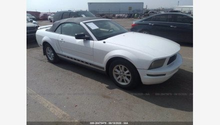 2006 Ford Mustang Convertible for sale 101417789
