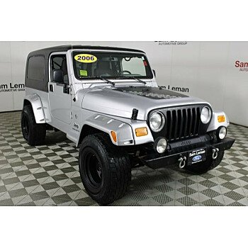 2006 Jeep Wrangler 4WD Unlimited for sale 101249614