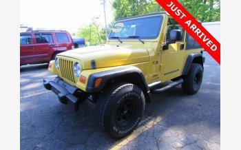 2006 Jeep Wrangler 4WD X for sale 101331903