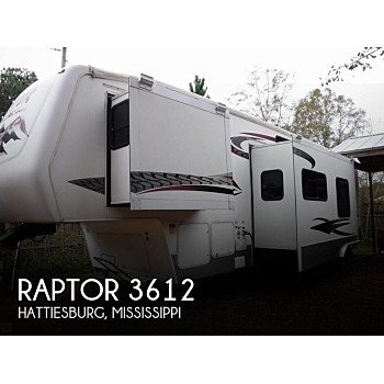 2006 Keystone Raptor for sale 300181579