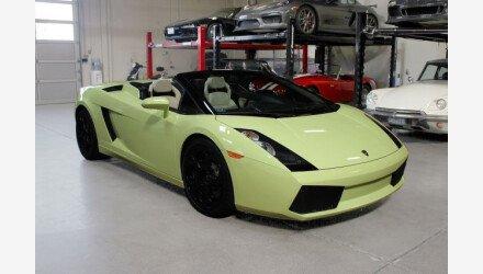 2006 Lamborghini Gallardo Spyder for sale 101216866