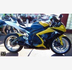 2006 Suzuki GSX-R600 for sale 200842528
