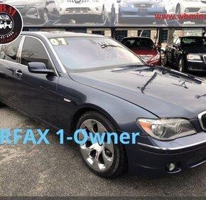 2007 BMW 750Li for sale 101433199