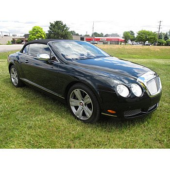 2007 Bentley Continental GTC Convertible for sale 101006003