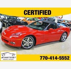 2007 Chevrolet Corvette Convertible for sale 101029048