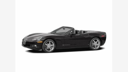 2007 Chevrolet Corvette Convertible for sale 101313836