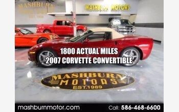 2007 Chevrolet Corvette Convertible for sale 101392737